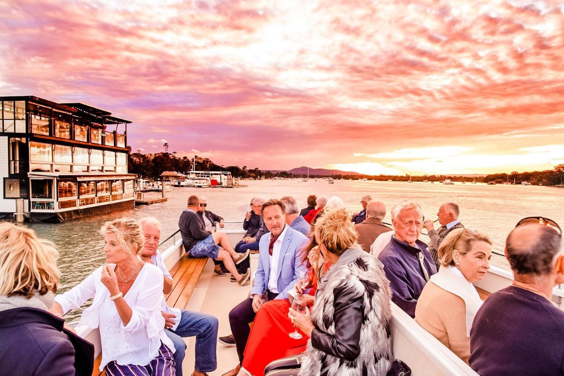 Things To Do In Noosa Noosa Ferry Sunset Cruise
